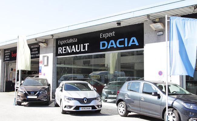 Berezikar berri especialista Renault, Dacia, Nissan en Lasarte - Donostia