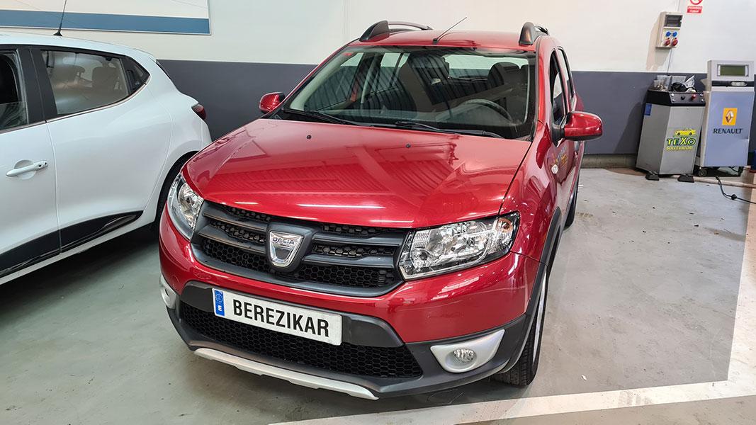 Dacia Sandero Stepway en Berezikar
