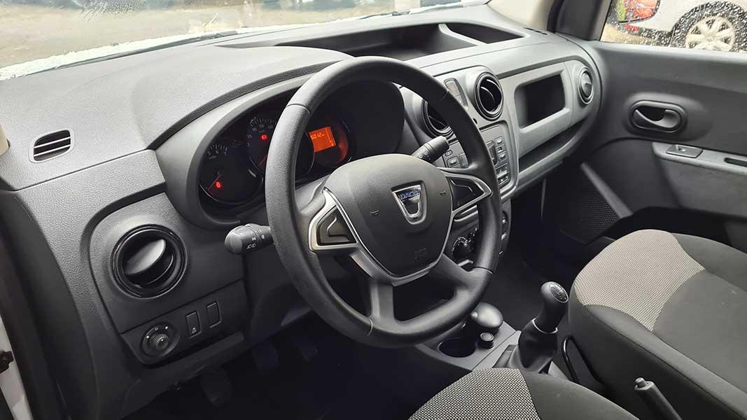 Dacia ibilgailu komertzial merkeak Donostia, Gipuzkoan