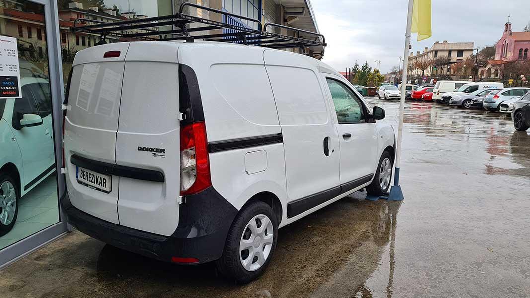 Okasiozko Dacia ibilgailuak, Gipuzkoan