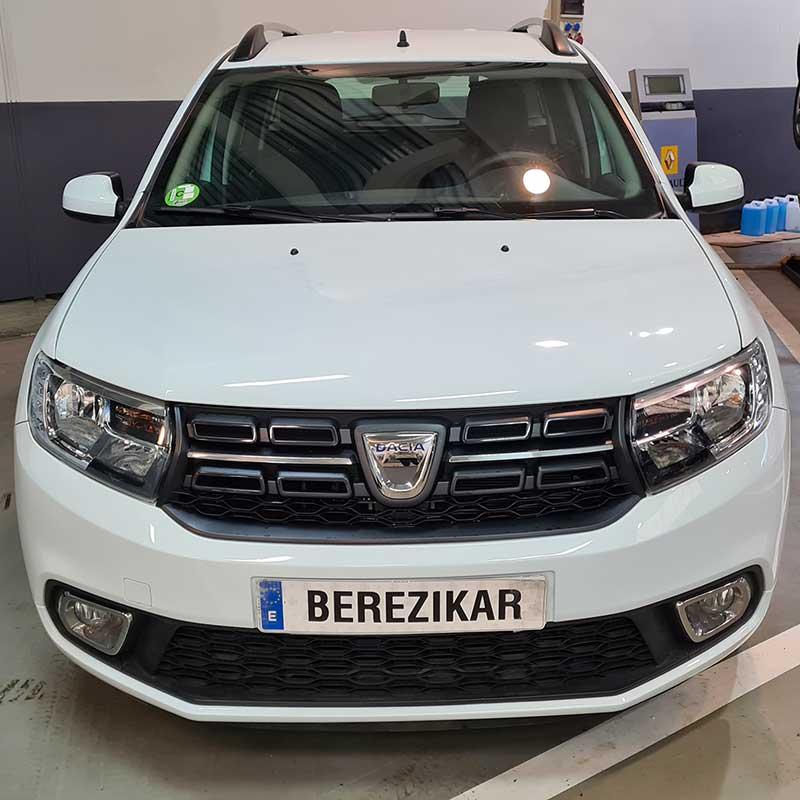 Dacia Logan en Berezikar